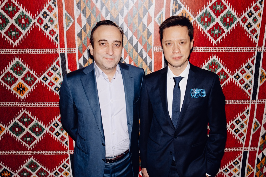 Businessmen Gor Nakhapetyan & Genreal Producer the Year of Culture Qatar-Russia 2018 Evgeniy Kovalishin.jpg