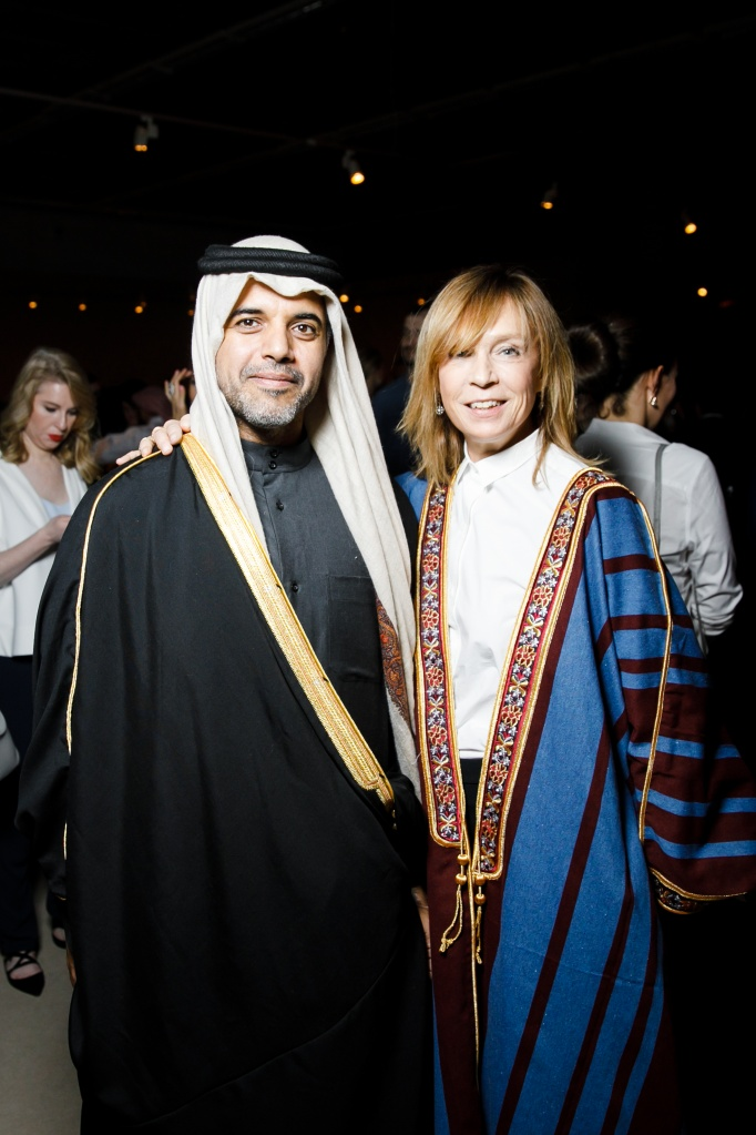 ABC_8760_The Ambassador of the State of Qatar to the Russian Federation His Excellency Fahad bin Mohammed Al-Attiyah and Alyona Doletskaya (Посол Государства Катар в РФ Его Превосходительство Фахад Мохамедови.jpg